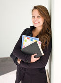 Cute young student. — Stock Photo