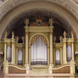 Stock Photo: Beautiful church organ.