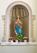 Sculpture of Mary. — Stock Photo