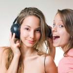 loucura de música — Foto Stock