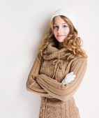 Winter cutie — Stock Photo