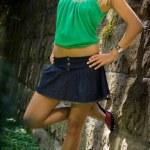 Fashionable young woman — Stock Photo #8572119