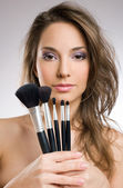 My makeup tools — Stock Photo