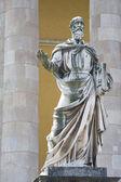 Statue of a saint. — Stock Photo