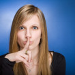 Can you keep a secret? — Stock Photo #9498457