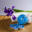 Still life with spa accessories — Stock Photo