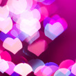 Abstract heart background - 
