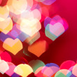 Abstract heart background - 图库照片