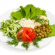 Vegetable salad — Stock Photo #9765344