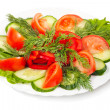 Vegetable salad — Stock Photo #9824117