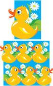 Pattern for children — Stock Vector