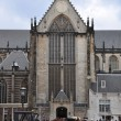 Stock Photo: Cathedral in amsterdam Dam square