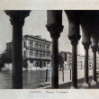 "Stock Photo: ITALY - CIRC1910: picture printed in Italy shows image of Palazzo Vendramin in Venice, Vintage postcards ""Italy"" series, circ1910"