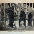 "ITALY - CIRCA 1910: A picture printed in Italy shows image of Palazzo Ducale in Venice, Vintage postcards ""Italy"" series, circa 1910 — Stockfoto"