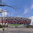 National Stadium Warsaw - Stock Photo