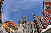 Wroclaw, Ostrow Tumski — Stock Photo
