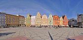 Solny square, Wroclaw, Poland — Stock Photo