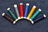 Colored threads — Stock Photo