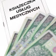 Book of medical services - Lizenzfreies Foto