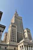 Palace of Culture, Warsaw, Poland — Stock Photo