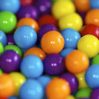Stock Photo: Brightly colored candy balls