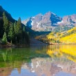 Maroon Bells-Reflection — Stock Photo #8198160