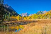 Maroon Bells-Landscape — Stock Photo