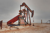 West Texas Pump Jack — Stock Photo