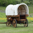 Old covered wagon — Stock Photo