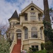 Victorian residential building in San Francisco — Stock Photo