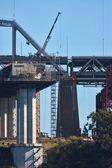 San Francisco Oakland Bay Bridge — Stock Photo
