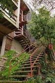 Strome schody — Zdjęcie stockowe