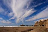 Ocean plaża — Zdjęcie stockowe
