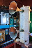 Lighthouse horns — Stock Photo