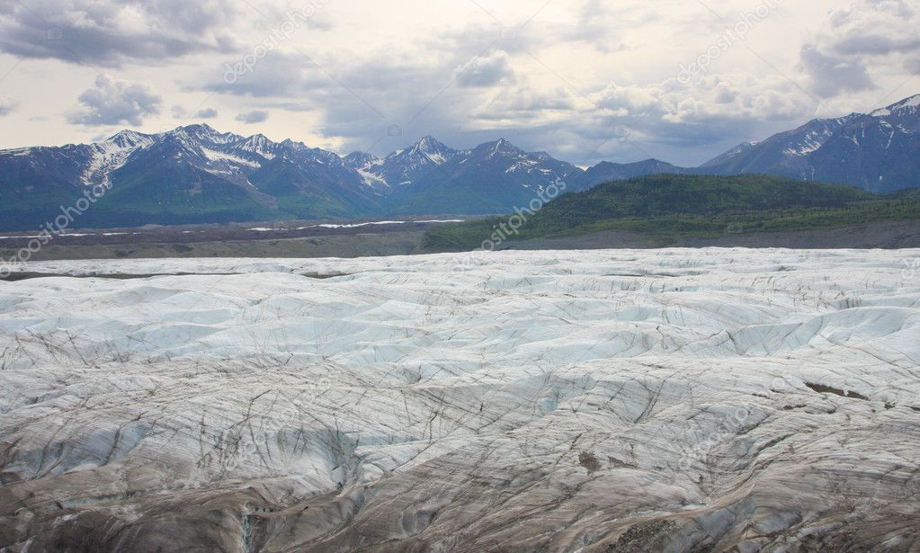 Glacier in Wrangell National Park, Alaska — Stock Photo #8237205