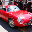 Stock Photo: 1961 AlfRomeo Sprint Zagato