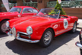 1956 Alfa Romeo Giulietta Spider — Stock Photo