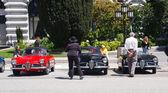 Alfa romeo giulietta паук veloce автомобили 1957 — Стоковое фото