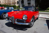 1957 Alfa Romeo Giulietta Spider Veloce — Stock Photo