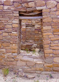 Chaco Culture ruins — Stock Photo
