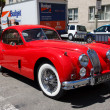 Stock Photo: 1956 Jaguar XK140 fhc