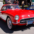 Stock Photo: 1957 Chevrolet Corvette Coupe