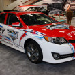 Постер, плакат: Toyota Camry Daytona 500