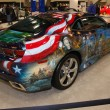 Custom painted Chevrolet Camaro — Stock Photo
