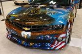Custom painted Chevrolet Camaro — Stock Photo