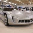 Постер, плакат: A prototype of Chevrolet Corvette