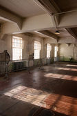 Alcatraz jídelna — Stock fotografie