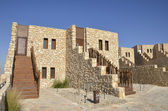 Tourist cottages in Negev desert, Israel. — Stock Photo