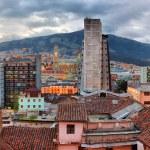 Quito evening view. — Stock Photo