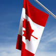Flag of Canada (clipping path) — Stock Photo